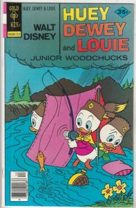 Huey Dewey and Louie Junior Woodchuks #47 (Dec-77) NM- High-Grade Huey Dewey ...