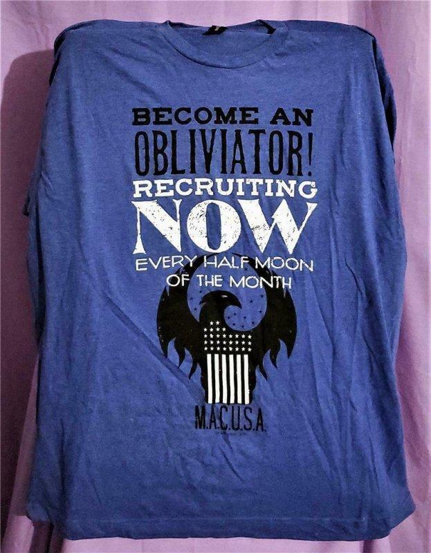 Loot Crate Exclusive FANTASTIC BEASTS OBLIVIATOR T-Shirt 2XL (Bioworld)!