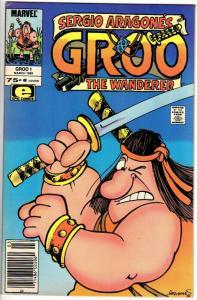 GROO 1 FN SERGIO ARAGONES Mar. 1985