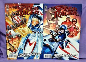 IDW Comics SPEED RACER Chronicles Of The Racer #1 Covers A & B (IDW, 2008)!