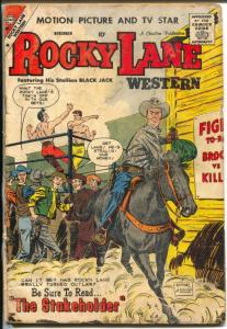 Rocky Lane #87 1959-Charlton-boxing cover-Silver Age Western-G