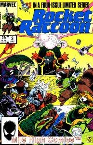 ROCKET RACCOON  (1985 Series)  (MARVEL) #3 Very Good Comics Book