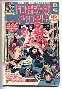 FOREVER PEOPLE #4 KIRBY comic book 1971 VG First appearance Desaad