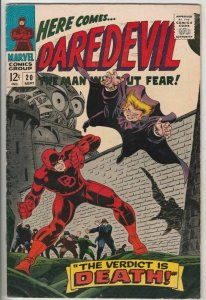 Daredevil # 20 Strict FN/VF+ High-Grade Cover The Owl vs. DD storyline Wow
