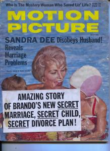 Motion Picture-Janet Leigh-Marlon Brando-Gary Cooper-Elvis Presley-July-1961