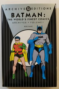 ARCHIVE EDITIONS BATMAN: THE WORLDS FINEST COMICS ARCHIVES VOL.1 1ST PRINT HC