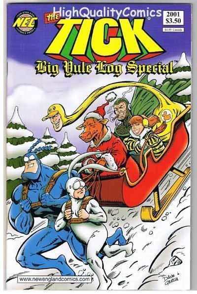 TICK YULE LOG SPECIAL, NM, Ben Edlund, TV series, 2001, more Tick in store