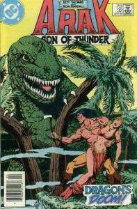 Arak Son of Thunder #32 (Newsstand) FN; DC | save on shipping - details inside