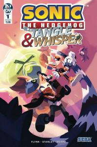 SONIC THE HEDGEHOG TANGLE & WHISPER (2019 IDW) #1 VARIANT CVR B FO PRESALE-07/31