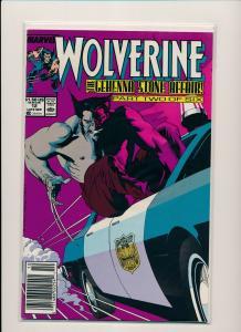 Marvel Comics WOLVERINE #11,12 Gehenna Stone Affair! 1/2 ~ 1989 VF/NM (PF490)
