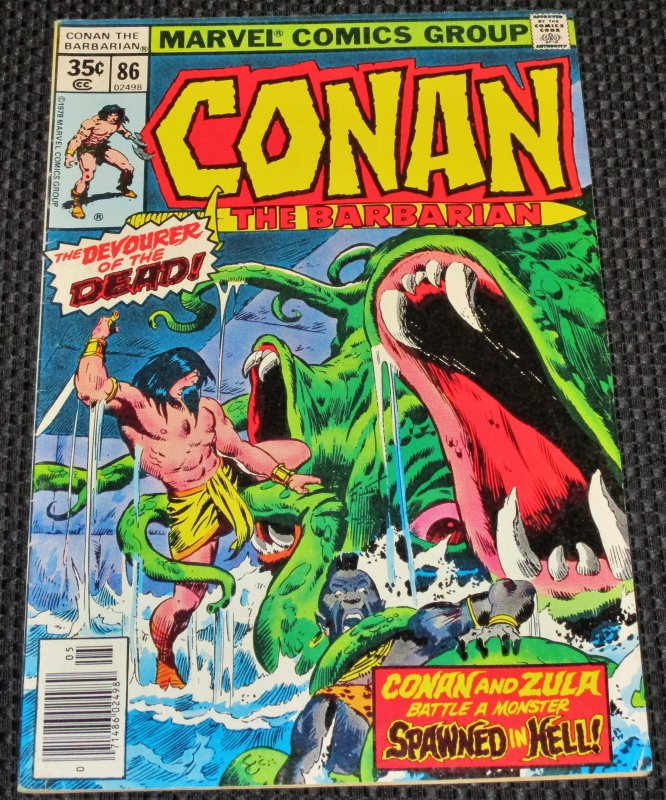Conan the Barbarian #86 (1978)