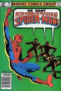 Spectacular Spider-Man (1976 series) #59, Fine- (Stock photo)