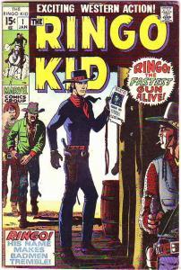 Ringo Kid #1 (Jan-70) VG Affordable-Grade Ringo Kid