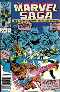 Marvel Saga #14 (Newsstand) FN; Marvel | save on shipping - details inside