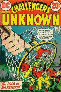 Challengers of the Unknown (1958 series) #78, VF+ (Stock photo)