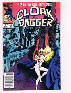 Cloak & Dagger #2 VF/NM Marvel Comics Comic Book Nov 1983 DE46