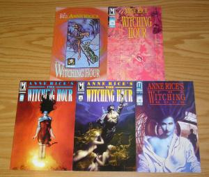 Anne Rice's the Witching Hour #1-5 VF/NM complete series JOHN BOLTON set 2 3 4