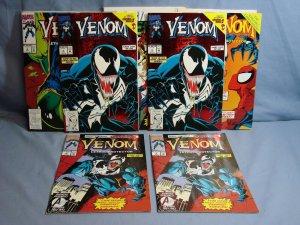 Venom: Lethal Protector (Marvel Comics 1993) Issues #1-4 & 6 Foil Covers L@@K!!!