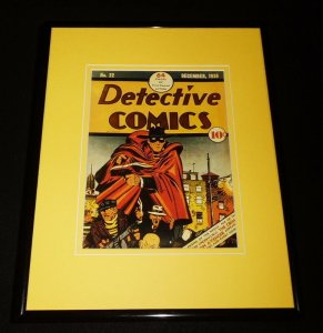 Detective Comics #22 Framed Cover Photo Poster 11x14 Official Repro