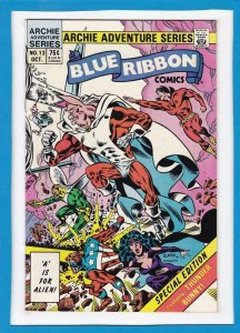 BLUE RIBBON COMICS #13, VF/NM, Thunder Bunny, Red Circle, 1984, more in store