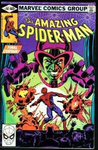 AMAZING SPIDER-MAN #207-1980-MARVEL VF