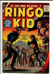 RINGO KID #20 1957-ATLAS-JOE MANEELY-fn/vf