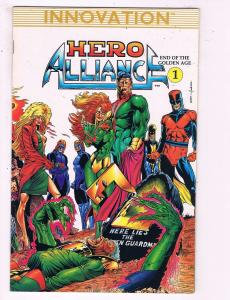 Hero Alliance #1 VF Innovation Comic Book DE13