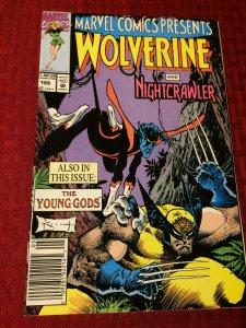Marvel Comics Presents Wolverine and Nightcrawler #105 Marvel (1992) NM