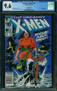 X-Men #185 CGC 9.6 CANADIAN EDITION*Highest 1 OF 2 Graded - No 9.8's Rogue JR JR