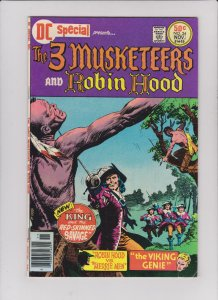 DC SPECIAL #24, FN, Three Musketeers, Robin Hood, 1968, 1976,more in store