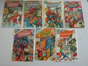 Giant Justice league of America #139 - 156 (14 DIFF) 7.0 FN/VF - 1977-78