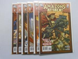Amazons Attack (2007) #1-6 Set - 8.0 VF - 2007