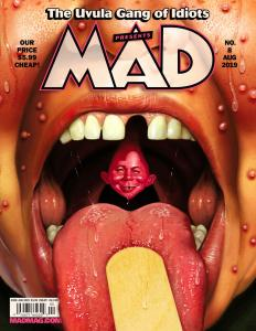 Mad Magazine #8 Game Of Thrones Spin Offs Parody (DC, 2019) New!