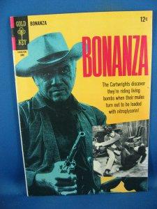BONANZA 20 VF+ PHOTO COVER 1966