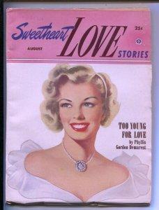 Sweetheart Love Stories #2 8/1952-Popular-Peggy Graves editor-rarer than 1st ...