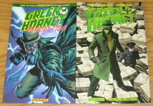 Lot of (2) Green Hornet TPBs - blood ties - mark waid - dynamite ($36.98 value)