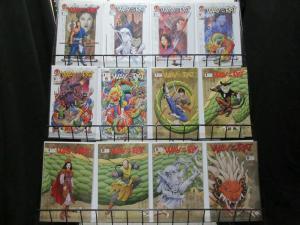 WAY OF THE RAT (2002 CROSSGEN) 1-24 the COMPLETE Series COMICS BOOK