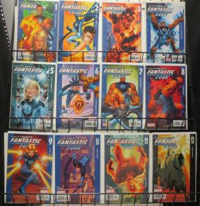Ultimate Marvel Mini-Library Lot 46Dif Fantastic Four Avengers SHIELD Sinister6