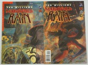 Tad Williams' MirrorWorld: Rain #0-1 VF complete series - tekno comix big - set