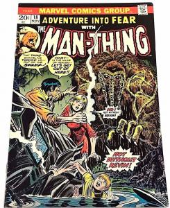 ADVENTURE INTO FEAR#18 VF 1973 MARVEL BRONZE AGE COMICS