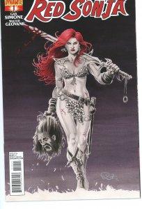 Red Sonja 1 (2013) Nicola Scott Cover 9.0 (our highest grade)
