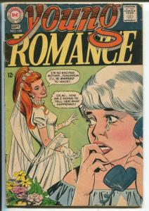 Young Romance #155 1968-DC-Bride cover-FR
