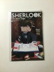 Sherlock The Great Game 5 Variant Near Mint Titan Comics HPA