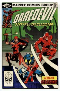 Daredevil #174-comic book Marvel Elektra issue 1st appearance of the Hand.