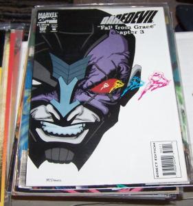 Daredevil # 322 1993, Marvel  fall from grace pt 3 + ELEKTRA  matt murdock NEW C