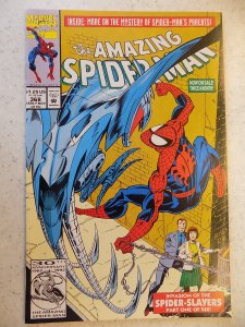 AMAZING SPIDER-MAN # 368 MARVEL ACTION ADVENTURE