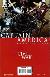 Captain America (5th Series) #23 VF/NM; Marvel   save on shipping - details insi