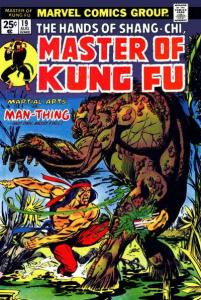 Master of Kung Fu (1974 series) #19, Fine- (Stock photo)