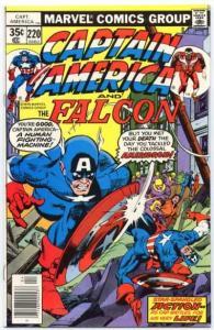 Captain America (1968 series) #220, NM- (Stock photo)