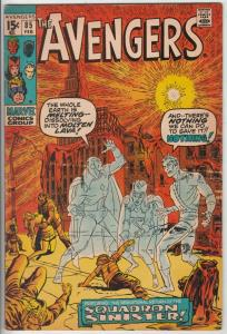 Avengers, The #85 (Feb-71) FN/VF Mid-High-Grade Avengers